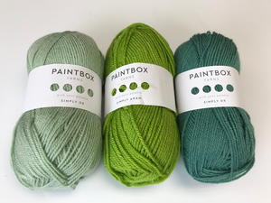 Shades of Green Paintbox Yarn Pack Giveaway