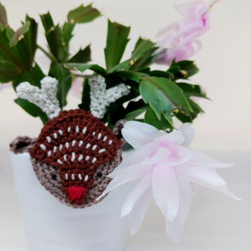 Reindeer Brooch or Rudolf Brooch