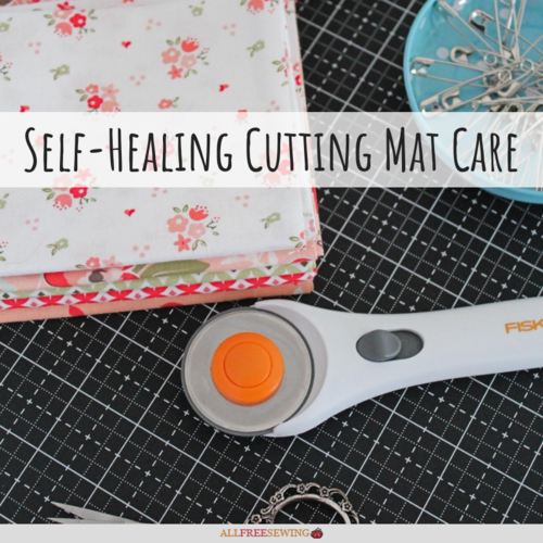Self Healing Cutting Mat Care Allfreesewing Com