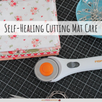 Self-Healing Cutting Mat Care