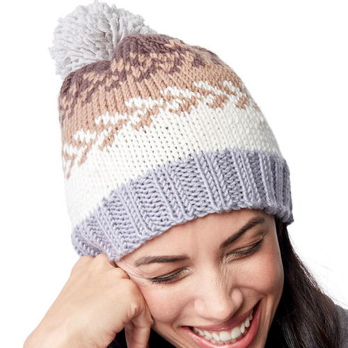 Simple Fair Isle Hat Pattern