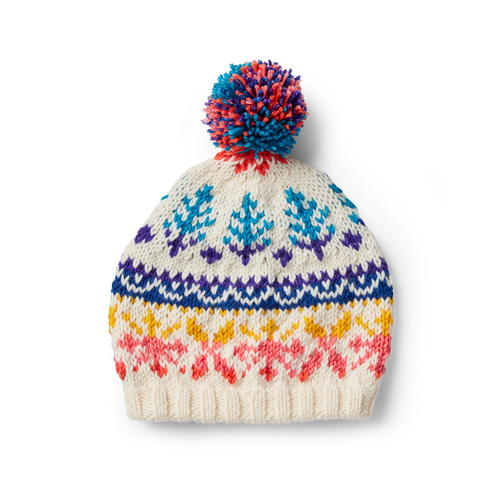 Candy Coated Fair Isle Hat Pattern