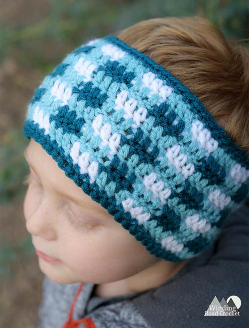 Plaid Earwarmer