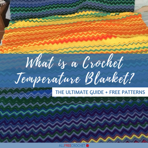 What is a Crochet Temperature Blanket
