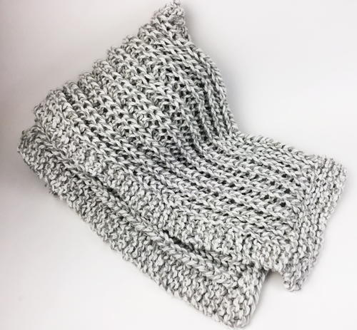 Beginner Fisherman's Rib Scarf