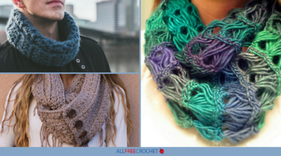 26 Crochet Infinity Scarf Patterns (+ Infinity Cowls!)