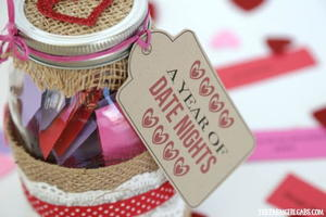 Date Night In A Jar Gift Idea: A Year Of Date Ideas