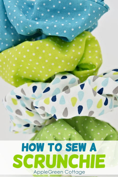 How to Make A Scrunchie - The 80ies Are Back!!