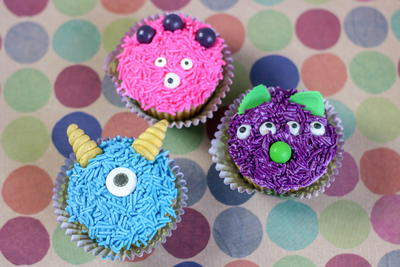 Monster Cupcakes Recipe