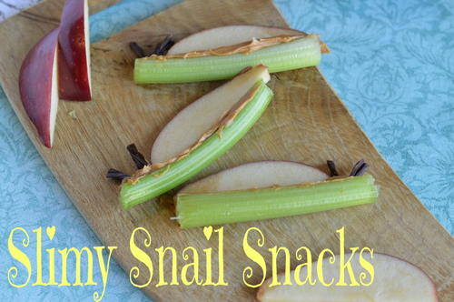 Super Slimy Snail Snacks