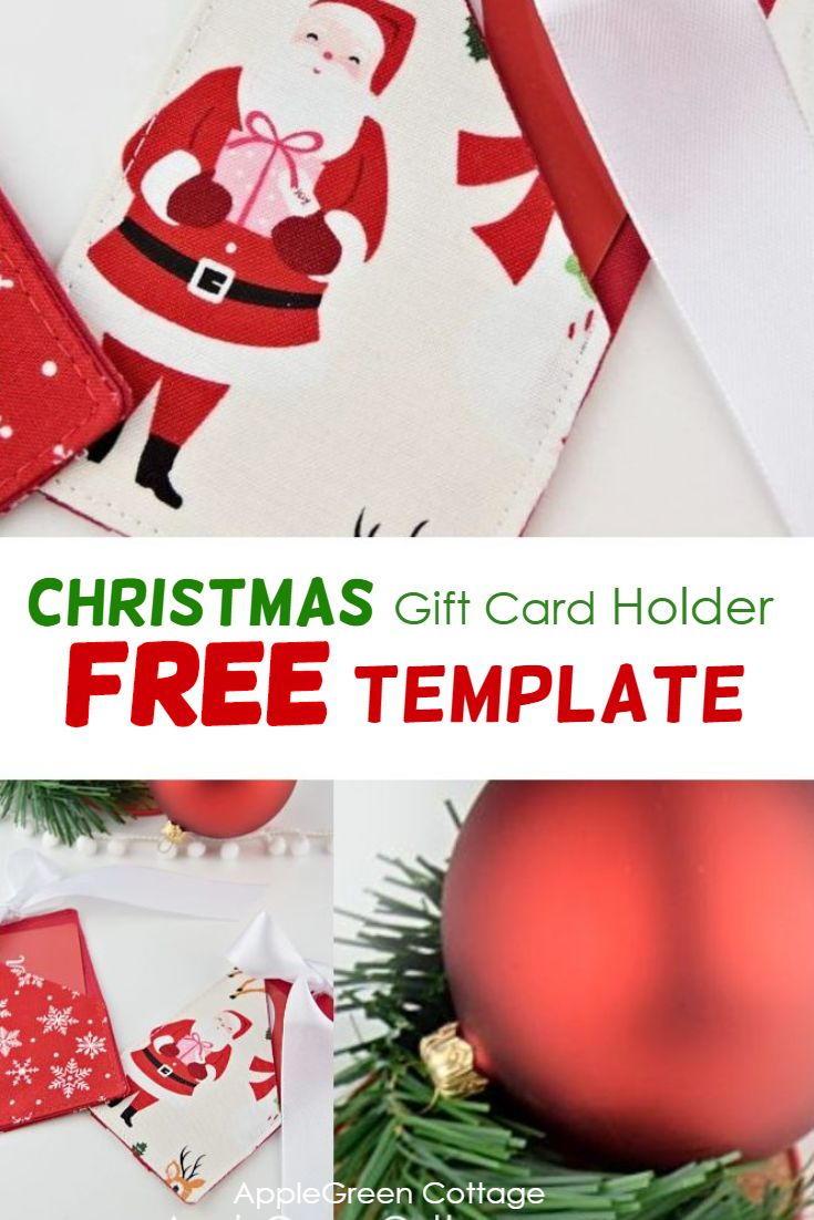 Christmas Gift Card Holder - Free Pattern