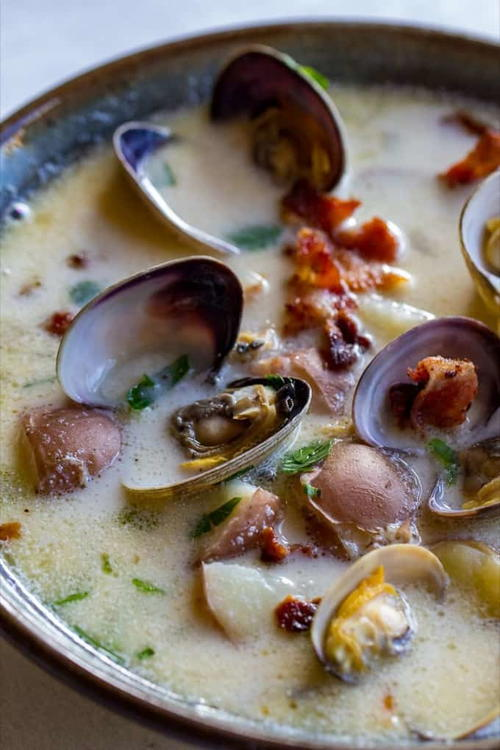 Pacific Northwest Clam Chowder