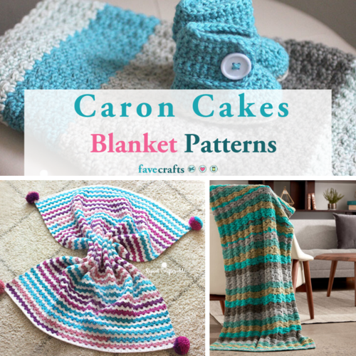 Caron Cakes Blanket Patterns