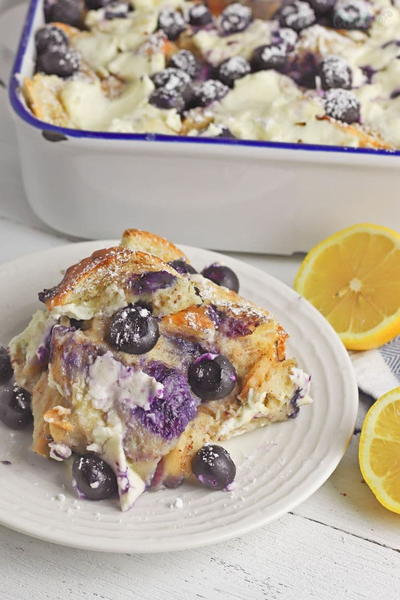 Blueberry French Toast Bake