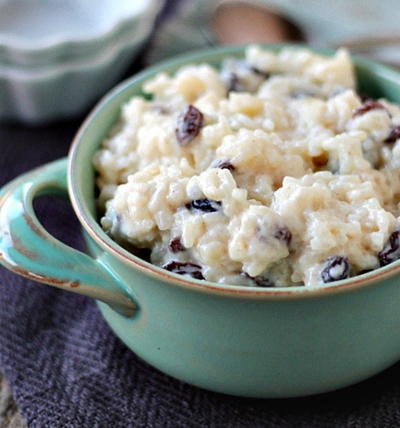 Old Fashioned Rice Pudding