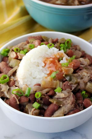 Popeye's Red Beans and Rice Copycat