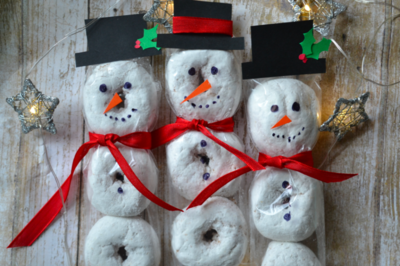 Snowmen Treats for Kids