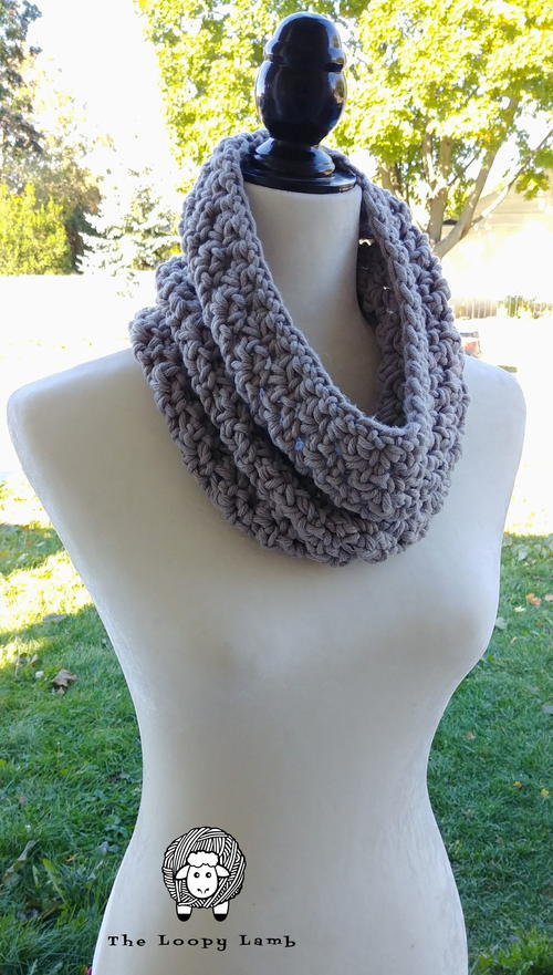 Super Quick Chunky Cowl