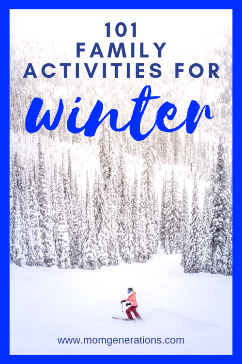 101 Winter Family Activities