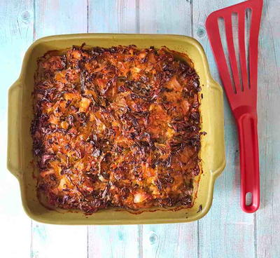Kalpudding, Swedish cabbage meatloaf