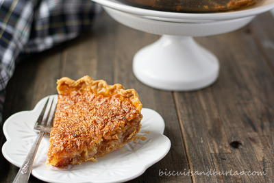 Easy Coconut Pie with a Crispy Top