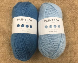 Shades of Blue Paintbox Yarn Giveaway