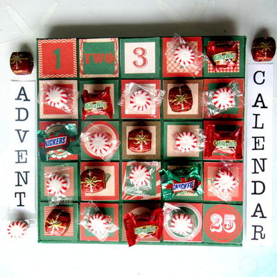 Printable Candy Advent Calendar