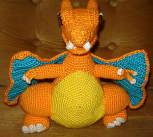 Pokemon Charizard Look Alike Pattern