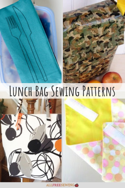14 Lunch Bag Sewing Patterns