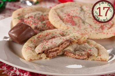 Candy Wrap Cookies