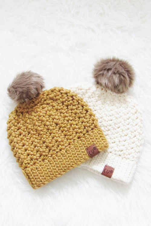 1.5 Hour Chunky Hat