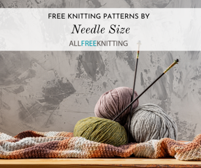Free Knitting Patterns By Needle Size Allfreeknitting Com