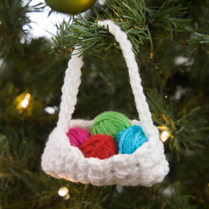 The Crocheter's Favorite Ornament