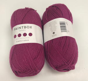 Raspberry Pink Paintbox Yarn Giveaway