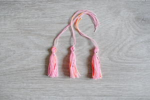 5 Minute Tassel Tutorial