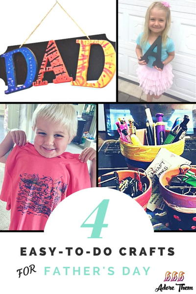 Cute and Easy Crafts for Father's Day