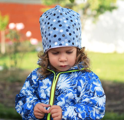 Diy Beanie Hat Lined with Fleece Free PDF Pattern
