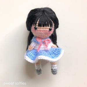 Suki the School Girl Amigurumi Doll