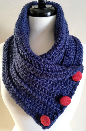 Chunky Crochet Neck Warmer