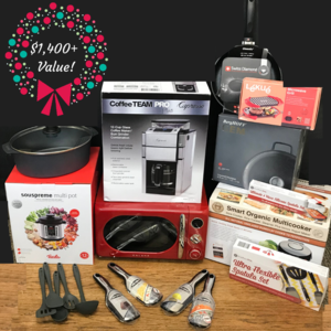 12 Days of Christmas $1,000+ Foodie Grand Prize Giveaway