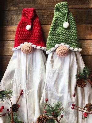 Gnome Towel Topper