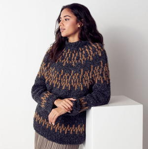 Nordic-Inspired Knit Sweater