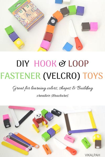 Diy Velcro( Hook And Loop Fastener) Toys