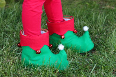 Diy Elf Shoes
