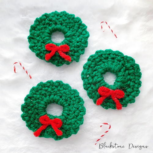 Wreath Christmas Tree Ornament