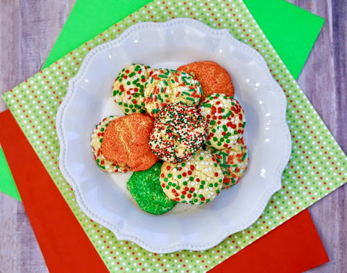 Easy Christmas Cake Mix Cookies