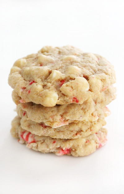 Vegan White Chocolate Peppermint Cookies (gluten-free, Allergy-free)
