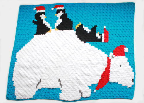 Polar Bear & Penguin Pals Graphgan