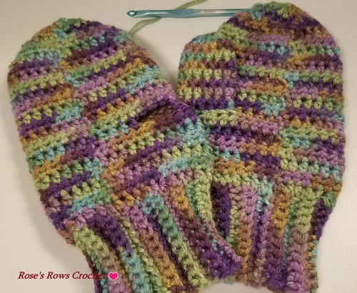 Simple Cozy Mittens
