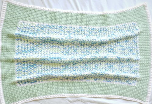 Wintergreen Baby Blanket